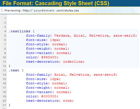 css tutorial by exle common types 187 css font exles free font sles from