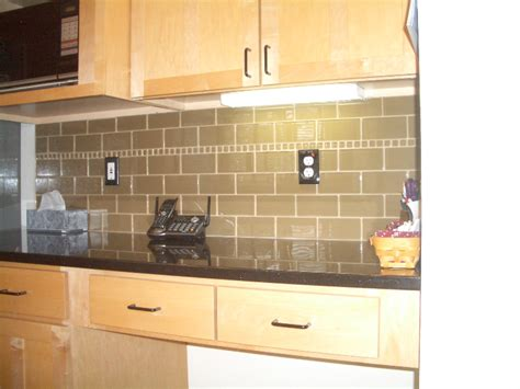 sneak peek large glass tile kitchen backsplash special