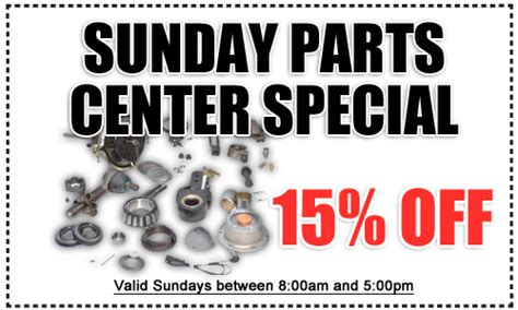 Toyota National City Parts San Diego County Toyota Sunday Parts Special Genuine