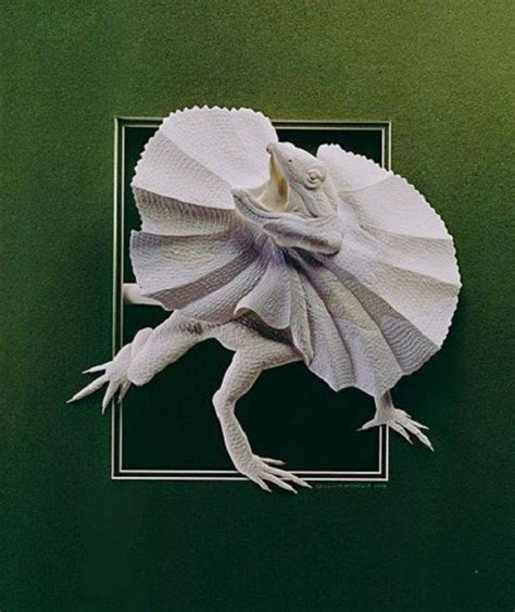 animal paper sculpture by calvin nicholls easy crafts
