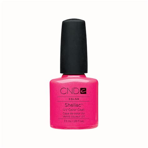 Cnd Gel L by Cnd Shellac Uv Color Coat Gel Nail Tutti Frutti