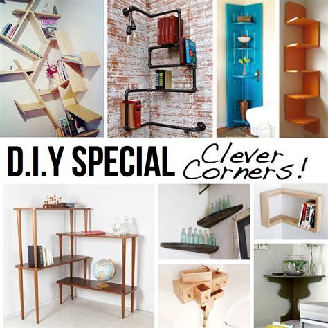 corner shelves diy diy ingenious corner shelves ideas