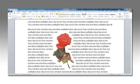 Word Lebenslauf Bild Neben Text Word Text Um Grafiken Flie 223 En Lassen So Geht S Pc Magazin