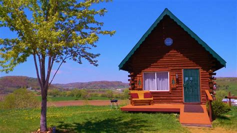 Creek Log Cabin by Brush Creek Log Cabin Travel Wisconsin