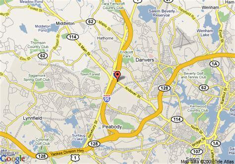 danvers ma map of towneplace suites boston danvers danvers