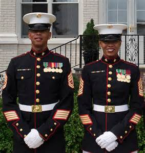 marine corps female dress blue uniform could become same