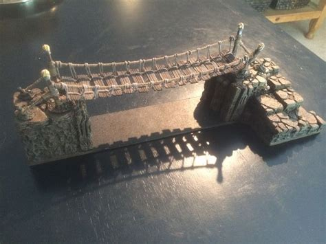 tutorial warhammer rope bridge tutorial by robster 40k d d pinterest