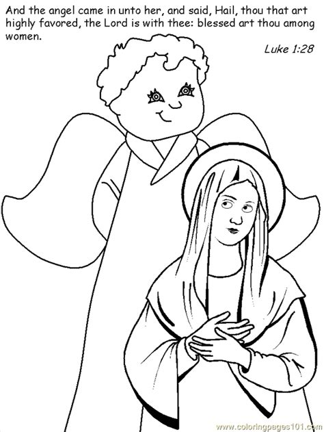 nativity angel coloring page free coloring pages of nativity angel