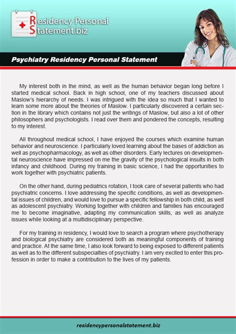 personal statement residency top quality residency personal statement exles