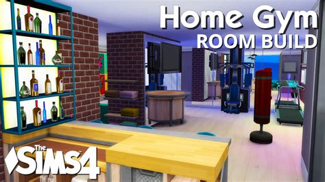 Home Workout Room Design Pictures by The Sims 4 Room Build Home Gym Youtube