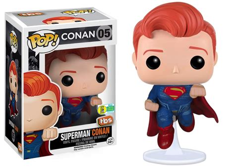 Superman 07 Dc Universe Funko Pop Vinyl Figure Px Previews Exclusive comic con is coming to a tv screen near you here s where