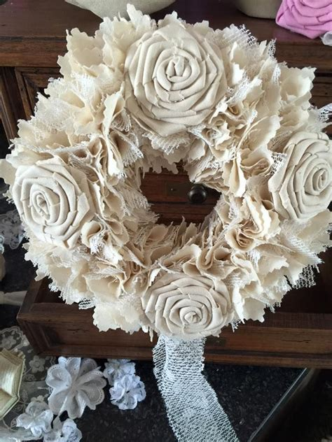 114 best images about wreath on pinterest shabby chic