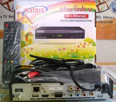 Harga Matrix Starlink Hd Ethernet New voucher gudangtransaksi