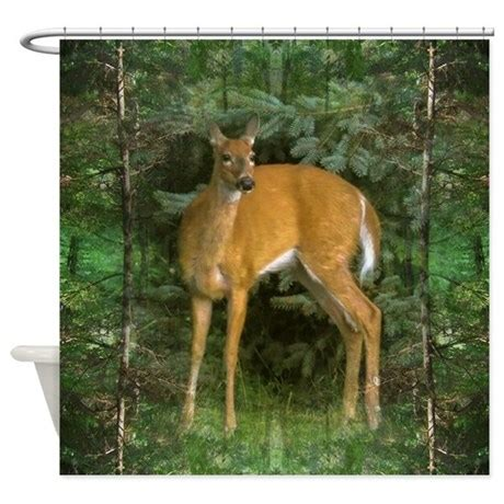 whitetail deer curtains whitetail deer shower curtain by listing store 204606