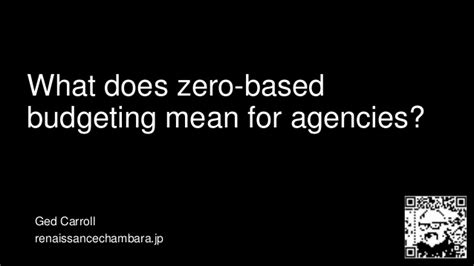 What Does Mba Stand For In by What Does Zero Based Budgeting For Agencies