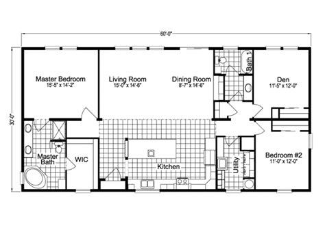 Palm Harbor Home Floor Plans by 30 X 60 House Plans Numberedtype