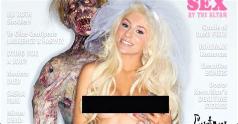Courtney Stodden En La Revista Girls Corpses | courtney stodden en la revista girls corpses