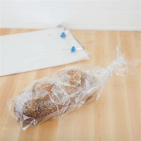 plastic bread bag 10 quot x 16 quot with micro perforations 1000