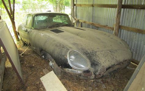 Find On 1964 Jaguar E Type Barn Find