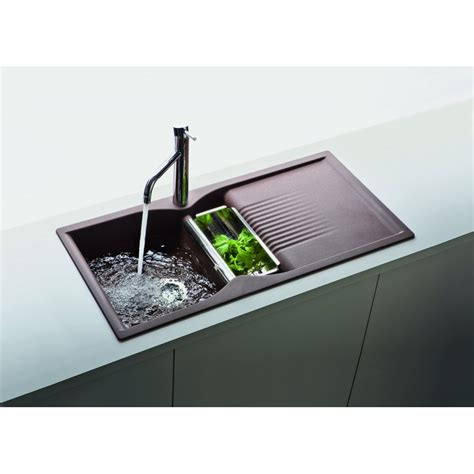 Schock Cus 1 5 Bowl And Drainer 1000mm X 500mm Schock Kitchen Sink
