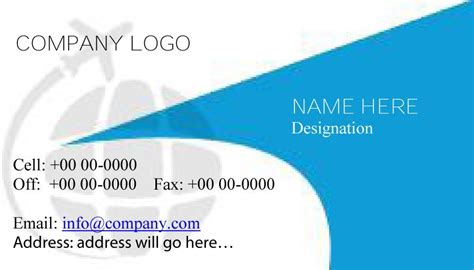 free employee business cards templates 43 free business card templates free template downloads