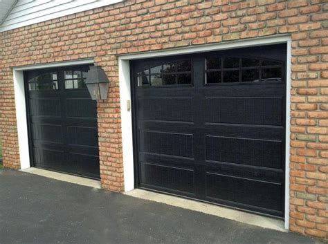 walnut garage doors
