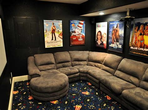 movie theater themed home decor ideas bakers rack decorating ideas with sofa gray ideas