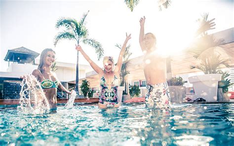 Blue Patio Furniture The Ultimate Pool Party Playlist Aqua Tech