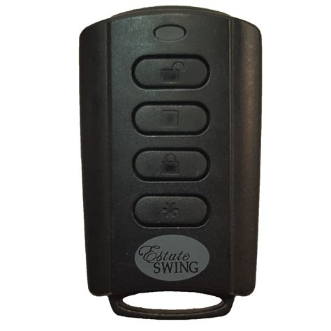 estate swing gate opener reviews estate swing t18 es plastic 4 button remote transmitter