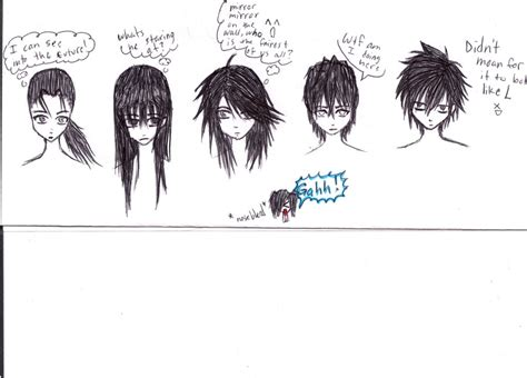 Cool Anime Hairstyles For Guys With Curly Hair by Anime Hair Styles By Kema47 On Deviantart