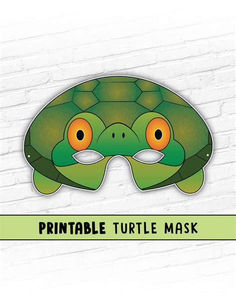 tortoise mask template printable tortoise mask template il fullxfull 1064610426