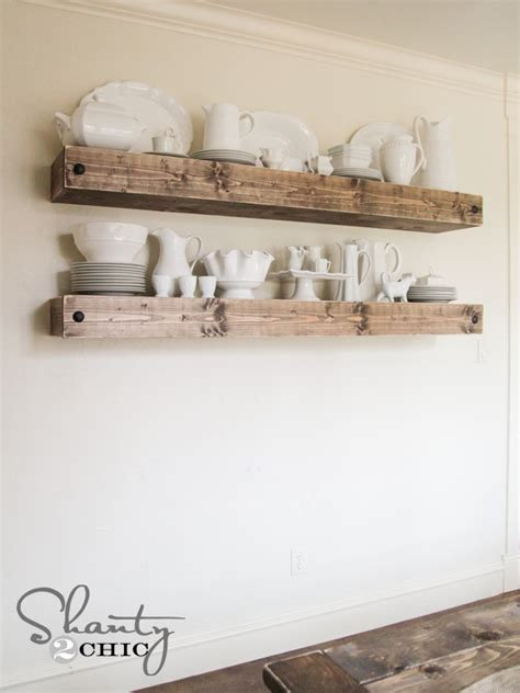 Free Floating Shelf Plans by Diy Floating Shelf Plans For The Dining Room Shanty 2 Chic