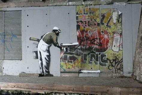 banksy  king robbo  guerra  graffiti coletivo senshi