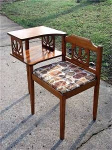gossip bench vintage antique telephone table chair desk telephones pinterest antiques table and