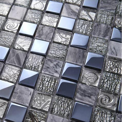 grey mosaic bathroom tiles grey marble mosaic kitchen backsplash wall tile