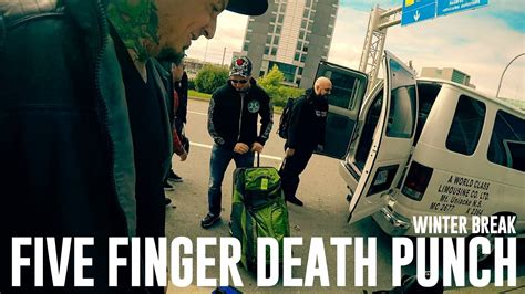 five finger death punch on youtube five finger death punch on winter break youtube