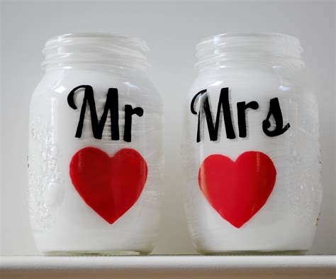 Wedding Things by Things Brides Jar Wedding Reception Decor
