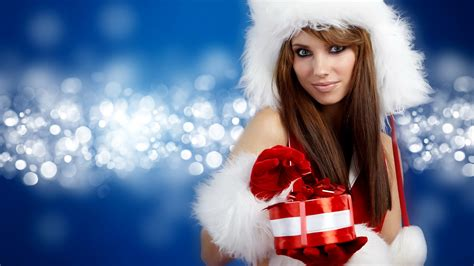 women models christmas christmas outfits santa