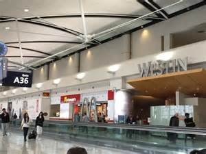 Car Rental Airport Dtw Westin Entrance A36 Gate Picture Of The Westin Detroit