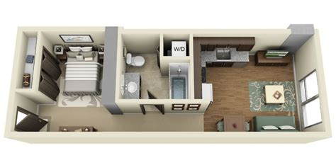 Studio Apartment Design Plans by Studio Apartment Floor Plans Futura Home Decorating