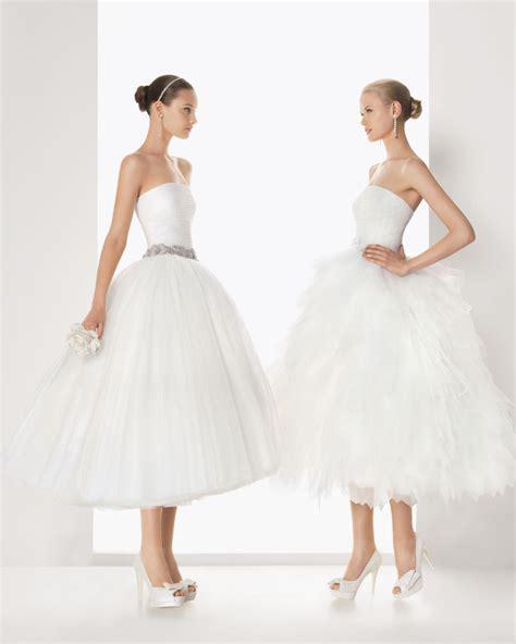Hochzeitskleid Kurz Rosa by Spanische Brautkleider Rosa Clara Hochzeitsmode 2013