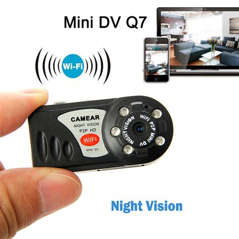 camara wifi mini dv wifi camcorder hd q7