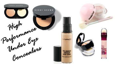 Best Under Eye Concealers (High Performance)   YouTube