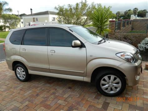 Toyota Avanza For Sale South Africa Toyota Avanza 1 5 Tx Model 2007 For Sale Cape Town