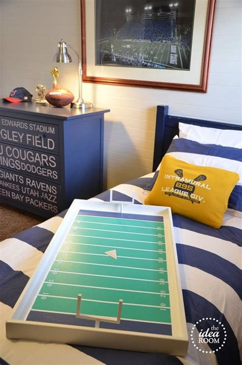 Football Room Decor by Football Boys Room Decor And Sport Room Boy Rooms And Football Decorations
