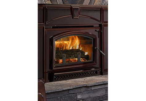 Quadrafire Fireplace by Quadra Voyager Grand Wood Burning Fireplace Insert