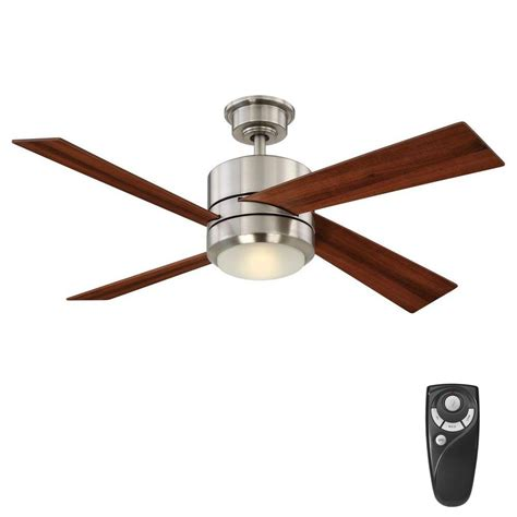 48 ceiling fan with light home decorators collection healy 48 in led indoor brushed