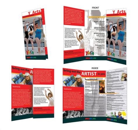 brochure templates publisher free microsoft brochure template 42 free word pdf ppt