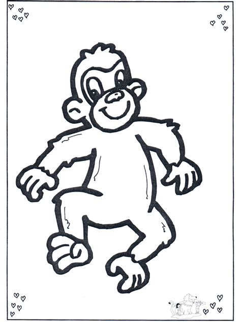 free five little monkeys coloring pages