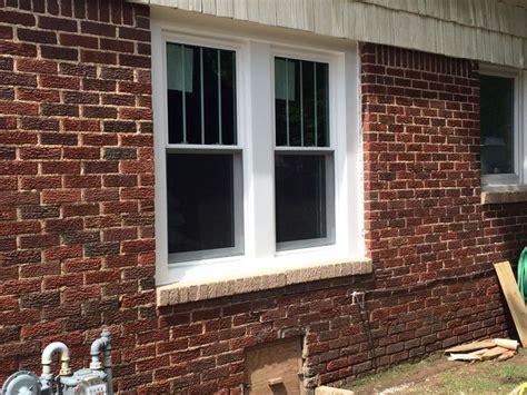 perfect exterior window trim brick flat casing